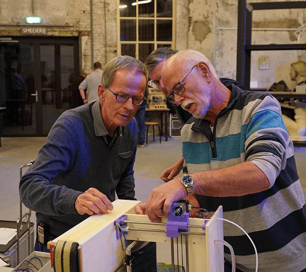 GEZOCHT: 5 Deelnemers voor het 3D-printerproject