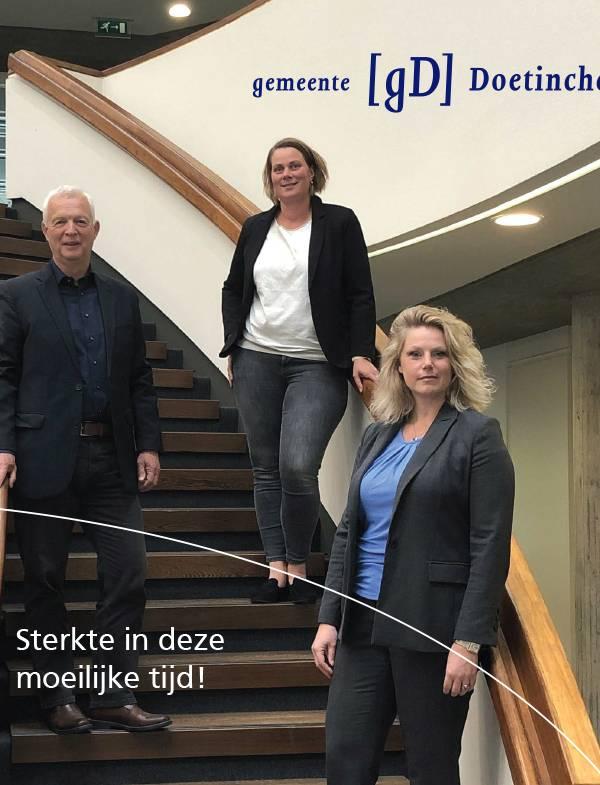 De gemeente Doetinchem is er voor haar ondernemers.