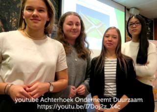Achterhoekse jongeren roepen bedrijfsleven op tot duurzaamheid