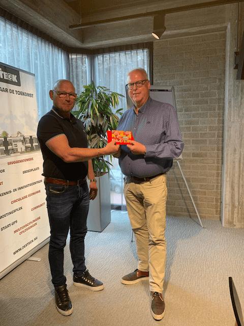 De winnaar van de IG&D Foodrally is Jan Bakhuis van Jalex Entertainment B.V.!
